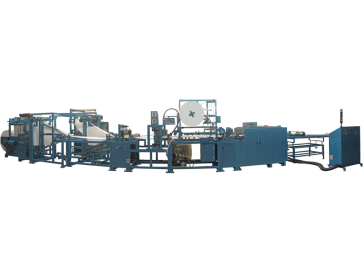 Combined endsheet machine type FM